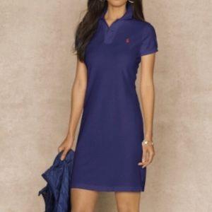 Polo Ralph Laure mesh mini dress